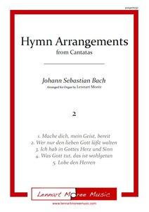 Hymn Arrangements from Cantatas (Vol. 2)