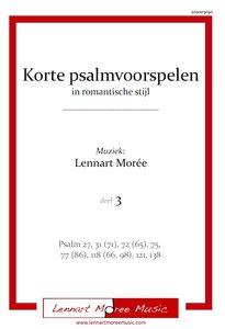 Korte psalmvoorspelen in romantische stijl - deel 3