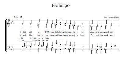 Psalm 90 - SATB