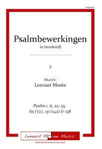 Psalmbewerkingen in barokstijl - deel 2